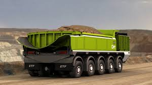 etf haul truck mining machinery pinterest mining equipment