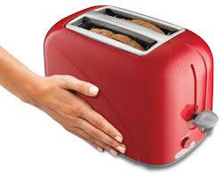 Bread Toaster Amazon Com Proctor Silex 2 Slice Toaster Red 22204 Kitchen