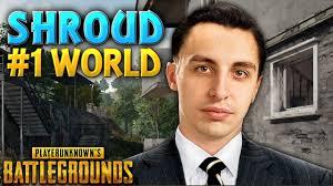1 pubg player 1 world pubg player pubg shroud montage youtube
