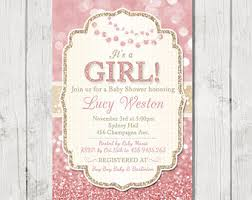 pink and gold baby shower invitations pink and gold baby shower invitations marialonghi