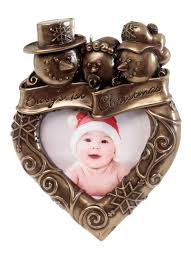 genesis baby u0027s first christmas frame ornament blarney