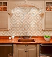 moroccan tile kitchen backsplash moroccan tile backsplash ideas arabesque shaped tiles