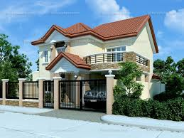 Home Design 1 1 2 Story Modern House Design 2012005 Pinoy Eplans