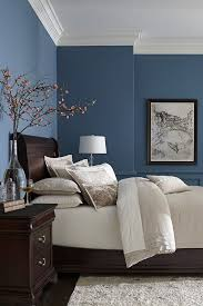 amazing blue bedroom grey navy ideas blue wall color dark brown