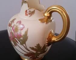 Vase Shaped Jug Porcelain Jug Etsy