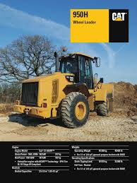 cat 950h wheel loader loader equipment transmission mechanics
