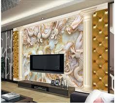salle de bain style romain online get cheap 3d papier peint murs piliers romains aliexpress