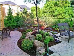 Rock Gardens Images by Backyards Bright Tropical Backyard Garden Setting Stock Image