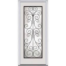 32 X 80 Exterior Door 32 X 80 Midcentury Front Doors Exterior Doors The Home Depot