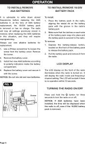 2410446 radio with bluetooth users manual user manual chervon