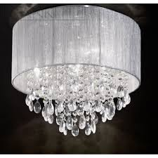 Elegant Chandeliers by Ceiling Light Shade With Crystals And Elegant Chandelier Lights
