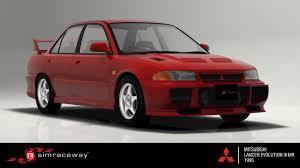Simraceway Mitsubishi Lancer Evolution Iii