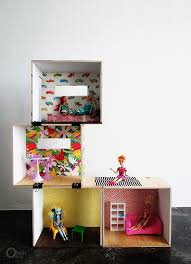 My Homemade Barbie Doll House by The Perfect Homemade Barbie House Shelving From Target Thumb