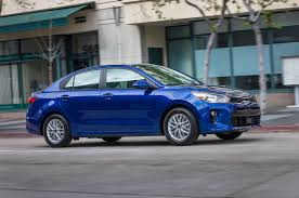2018 kia rio first look review drumming down motor trend