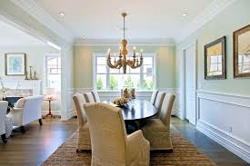 Chair Rail Molding Ideas Dining Room Molding Dining Room Traditional With Brown Area Rug