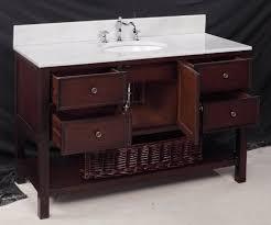 48 inch bathroom vanity made of wood