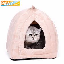 Cave Beds For Dogs Cat Bed Small Dog House Summer Soft Puppy Kennel Lovely Kitten