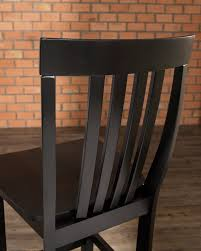 Crosley Furniture Outdoor Crosley Furniture House Bar Stool In Black Finish With 30