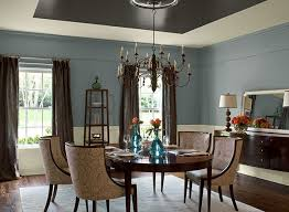 blue dining room ideas elegant blue dining room paint color