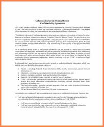 staff confidentiality agreement employee non disclosure and