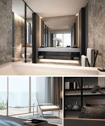 Bathroom Interior Scda Mixed Use Development Sanya China Show Villa Type 1