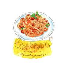 cuisine et d駱endances 深夜吃货剧场 麦麦麦安安 甜点 涂鸦王国插画 food illustration