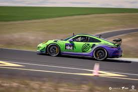 porsche purple classic porsche racing liveries made modern protective film