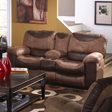 catnapper portman polyester power console reclining loveseat in