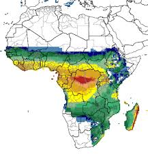 africa map climate zones climate and malaria