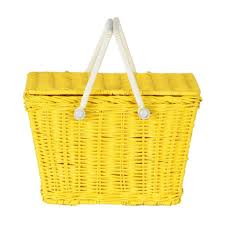 kids picnic basket kids picnic basket yellow granite homewares