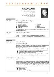 Summer Job Resume Template by Resume Example Of Resume With Experience How To Write A Cover