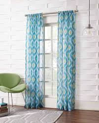 Turquoise Sheer Curtains Millennial Stella Stripe Sheer Curtain Panel Everything Turquoise