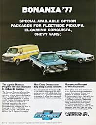 1977 el camino 1977 chevrolet truck bonanza program models alden jewell flickr