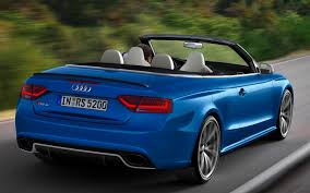 convertible audi 2013 drop top fun 2013 audi rs 5 cabriolet to cost 78 795