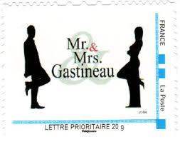 timbre personnalisã mariage timbre personnalisé de la poste exemples préparation mariage