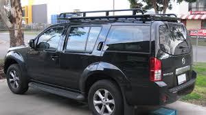 nissan pathfinder nissan pathfinder r51 roof racks