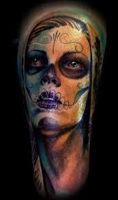 goliath tattoo studio tattoos original art day of dead color