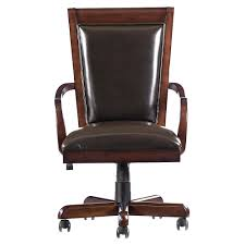 Small Leather Desk Chair Simple Office Chairs Leather On Small Home Remodel Ideas With