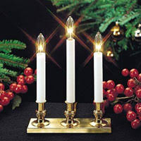 3 candle electric light battery operated candles electric window candles