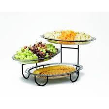 adjustable 3 tiered buffet server catering ideas pinterest