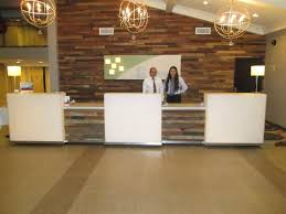 Front Desk Reception The New Reception Area With Two Of The Excellent Front Desk Team