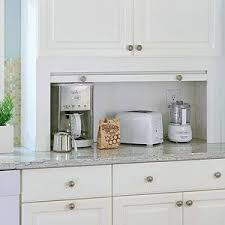 kitchen cabinet appliance garage space saving kitchen appliances appliance garage kitchens and