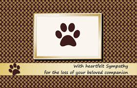 sympathy cards for pets condolence messages for loss of pets dog cat and other pets