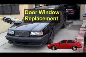 car door window removal installation replacement volvo 850 s70