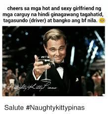 Sexy Girlfriend Meme - cheers sa mga hot and sexy girlfriend ng mga carguy na hindi