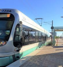 valley metro light rail schedule train phoenix airport to convention center review of valley metro