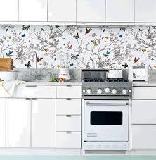 wallpaper in kitchen ideas wallpaper for kitchens kitchen design
