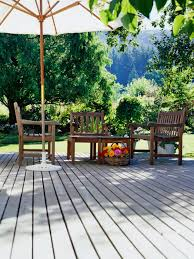 Outdoor Deck Furniture by Putting In A Deck Or Patio Hgtv