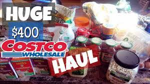 Toaster Costco Huge Costco Grocery Haul 400 Organic Costco Haul Monthly
