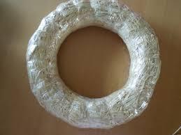 styrofoam wreath a craft springtime yarn wrapped wreath play dr